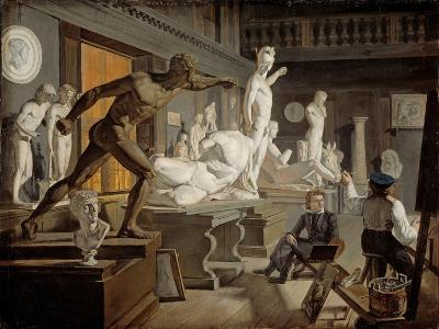 Scene from the Academy in Copenhagen-Knud Baade-Giclee Print