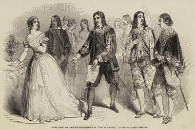 Scene from the Amateur Performance of The Hunchback, at the St James's Theatre--Giclee Print