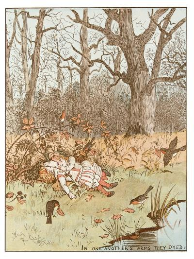 Scene from the Babes in the Wood, 1878-Randolph Caldecott-Giclee Print