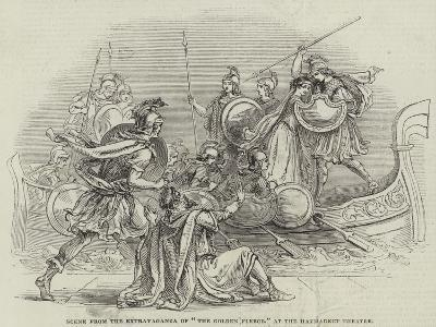 Scene from the Extravaganza of The Golden Fleece, at the Haymarket Theatre--Giclee Print