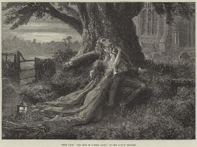 Scene from The Fate of Eugene Aram, at the Lyceum Theatre--Giclee Print