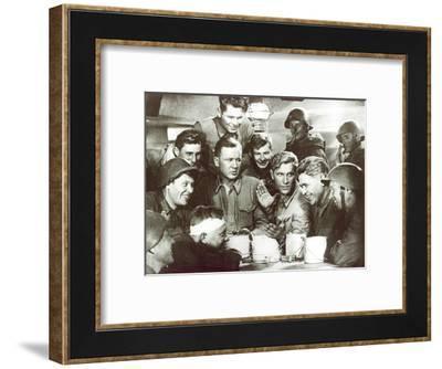 Scene from the Film Dva Boytsa (Two Soldiers), 1943--Framed Giclee Print