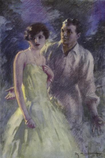 Scene from the Forsyte Saga-Arthur C. Michael-Giclee Print