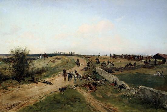 Scene from the Franco-Prussian War, 1870, 19th Century-Alphonse De Neuville-Giclee Print