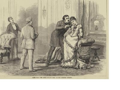 Scene from The Great Divorce Case, at the Criterion Theatre-David Henry Friston-Giclee Print
