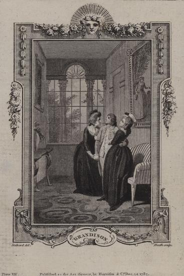 Scene from the History of Sir Charles Grandison--Giclee Print