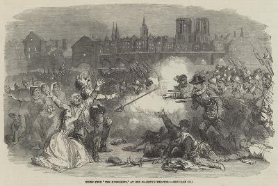 Scene from The Huguenots, at Her Majesty's Theatre--Giclee Print