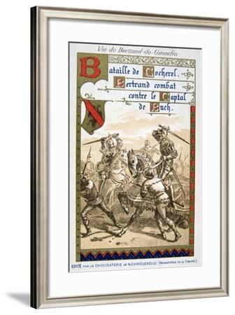 Scene from the Life of Bertrand Du Guesclin--Framed Giclee Print