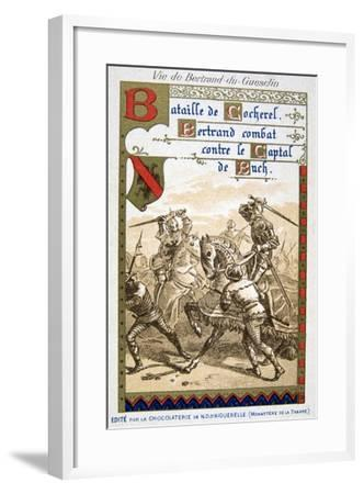 Scene from the Life of Bertrand Du Guesclin--Framed Giclee Print