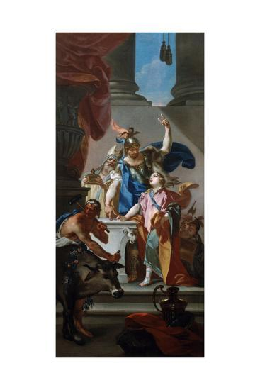 Scene from the Life of Hannibal, 18th Century-Claudio Francesco Beaumont-Giclee Print