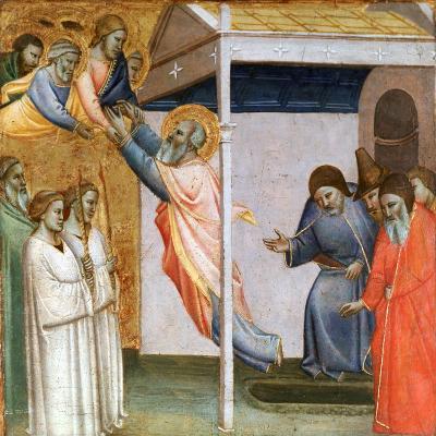 Scene from the Life of St John, C1320-1366-Taddeo Gaddi-Giclee Print