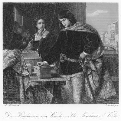 Scene from the Merchant of Venice--Giclee Print