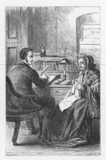 Scene from the Mill on the Floss by George Eliot, C1880-Walter-James Allen-Giclee Print