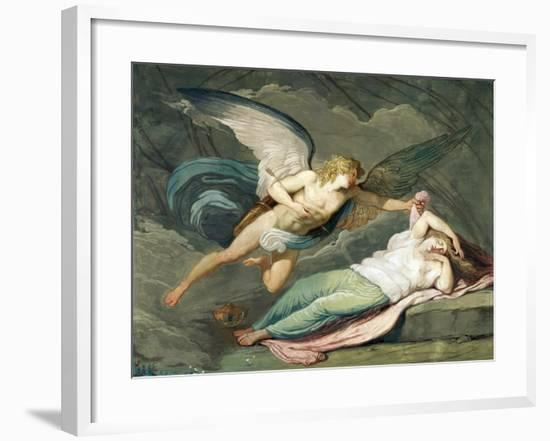 Scene from the Myth of Cupid and Psyche--Framed Giclee Print