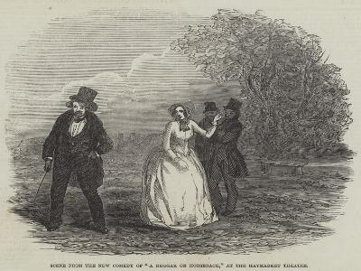 Scene from the New Comedy of A Beggar on Horseback, at the Haymarket Theatre--Giclee Print