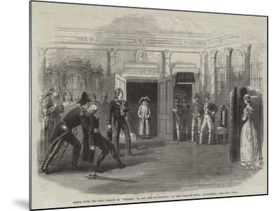 Scene from the New Comedy of Finesse; Or, Spy and Counterspy, at the Theatre Royal Haymarket--Mounted Giclee Print