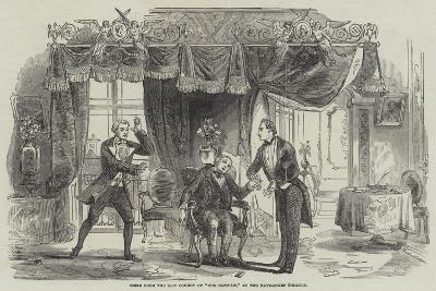 Scene from the New Comedy of The Catspaw, at the Haymarket Theatre--Giclee Print
