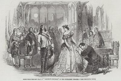Scene from the New Play of Colombe's Birthday, at the Haymarket Theatre--Giclee Print