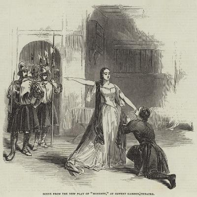 Scene from the New Play of Honesty, at Covent Garden Theatre--Giclee Print