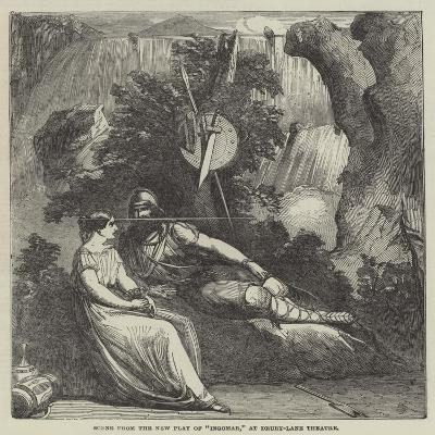 Scene from the New Play of Ingomar, at Drury-Lane Theatre--Giclee Print