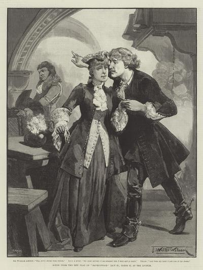 Scene from the New Play of Ravenswood, at the Lyceum-Thomas Walter Wilson-Giclee Print
