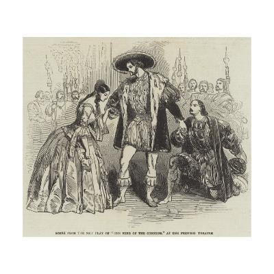 Scene from the New Play of The King of the Commons, at the Princess Theatre--Giclee Print