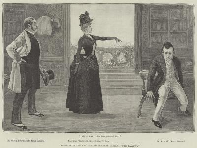 Scene from the New Strand Farcical Comedy, The Balloon-Henry Stephen Ludlow-Giclee Print