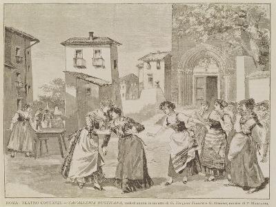 Scene from the Opera 'Cavalleria Rusticana'--Giclee Print