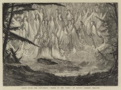 Scene from the Pantomime Babes in the Wood at Covent Garden Theatre--Giclee Print