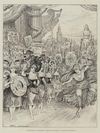Scene from the Pantomime of The Forty Thieves at Drury-Lane Theatre-Henry Stephen Ludlow-Giclee Print