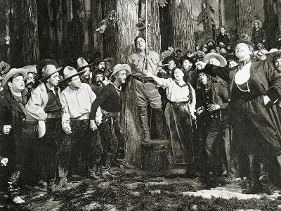 Scene from the Premiere of La Fanciulla Del West--Giclee Print