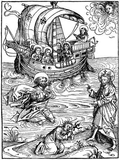 Scene from the Schatzbehalter, 1491-Michael Wohlgemuth-Giclee Print