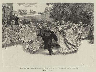Scene from the Second Act of the Vicar of Bray at the Savoy Theatre, the Pas De Cinq-Henry Marriott Paget-Giclee Print