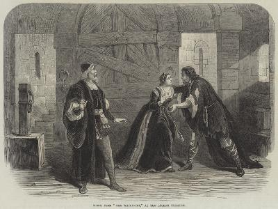 Scene from The Watch-Cry, at the Lyceum Theatre--Giclee Print