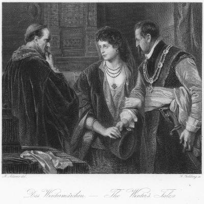 Scene from the Winter's Tale--Giclee Print