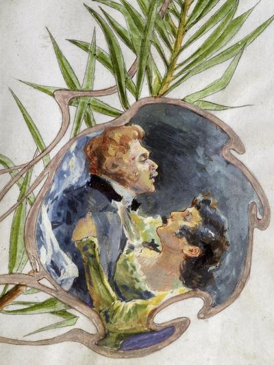 Scene from Tosca, Opera-Giacomo Puccini-Giclee Print