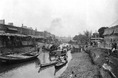 Scene from Whitely Bridge, Ashar, Iraq, 1917-1919--Giclee Print