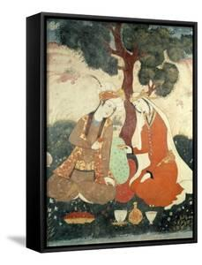 Scene Galante from the Era of Shah Abbas I, 1585-1627