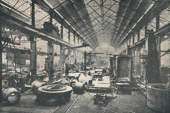 'Scene in a Boiler-shop', c1917-Unknown-Giclee Print