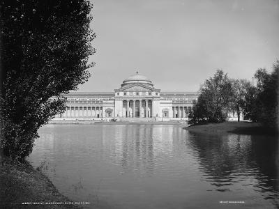 Scene in Jackson Park, Chicago, Illinois, 1890-1901--Photographic Print