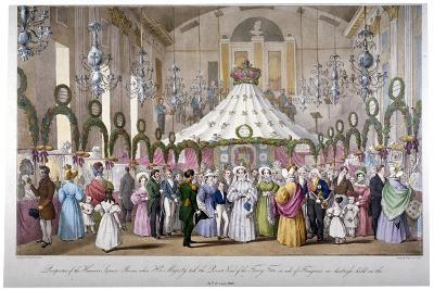 Scene in the Hanover Square Rooms, Westminster, London, 1833-Ferdinand Flor-Giclee Print