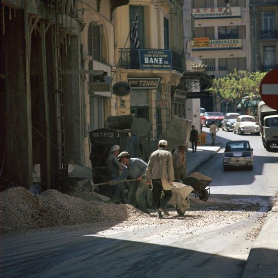 Scene of an Athenian street. Artist: Unknown-Unknown-Photographic Print