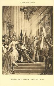 Scene of Jeanne d'Arc at the Pantheon, Paris