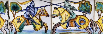 Scene of Jousting Tournament--Photographic Print