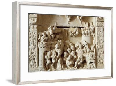 Scene of Siege, Relief, Chateau De Dinan--Framed Giclee Print
