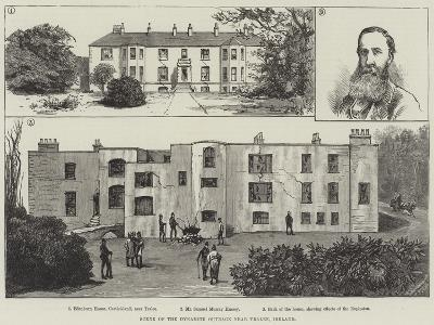 Scene of the Dynamite Outrage Near Tralee, Ireland--Giclee Print