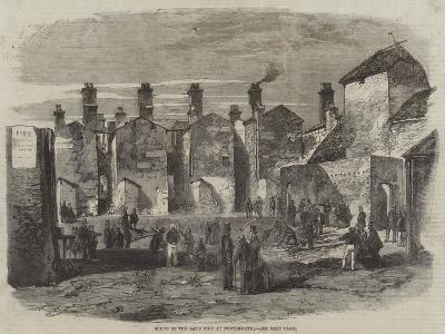 Scene of the Late Fire at Portsmouth--Giclee Print