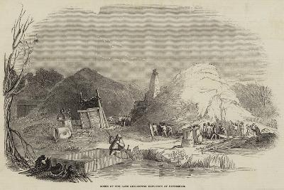 Scene of the Late Gun-Cotton Explosion at Faversham--Giclee Print