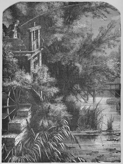 'Scene on a Creek Emptying Into The Little Juniata', 1883-Unknown-Giclee Print