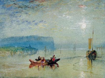 Scene on the Loire, Near the Coteaux De Mauves, C.1830-J^ M^ W^ Turner-Giclee Print